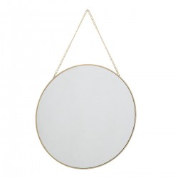 Wandspiegel mit Kette