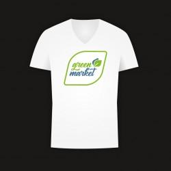 """T-Shirt """"green market"""""""