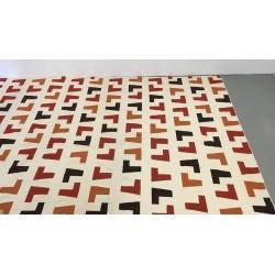 Handgewebter Teppich, 335 x 396 cm
