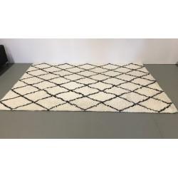 Handgetufteter Wollteppich, 200 x 300 cm