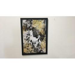 Bilderrahmen schwarz, 50 x 70 cm