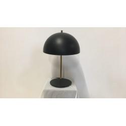 Tischleuchte schwarz, H 60 cm