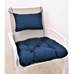 Sitzkissen mit Rückenpolster