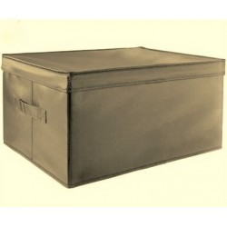 Aufbewahrungsboxen - Set, 2 tlg. grau