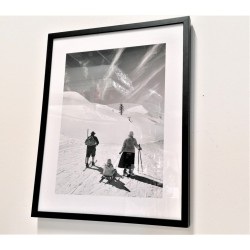 gerahmtes Wandbild, 30 cm x 40 cm