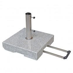 Sonnenschirmständer Granit 30 kg mit Trolleygriff