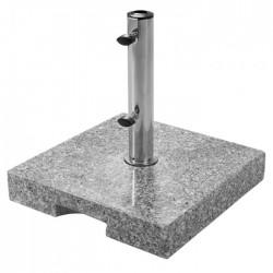 Sonnenschirmständer Granit 25 kg mit Griffmulde
