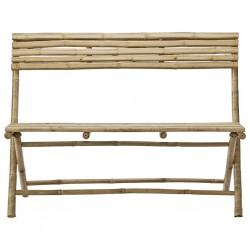 Gartensitzbank aus Bambus, 120 cm