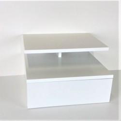 Wandnachttisch weiß, 35 x...