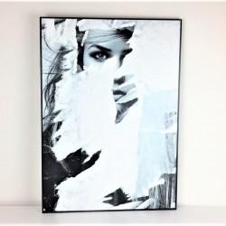 Gerahmtes Wandbild, 70 cm x...