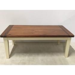 Holz-Couchtisch, 115 x 60 x...