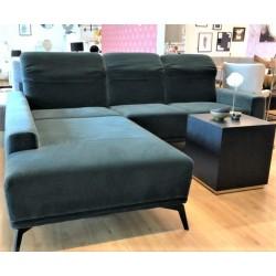 Samt-Sofa mit Schlaffunktion