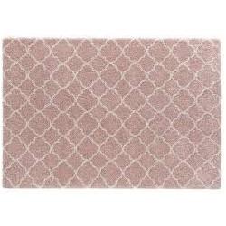 Hochflor - Teppich, rosa /...