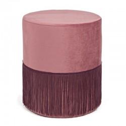 Hocker rosa, Ø 38 cm