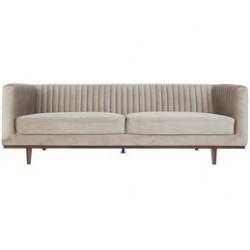 Samt-Sofa 3-Sitzer