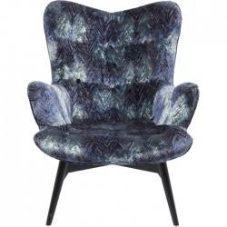 Samt-Sessel