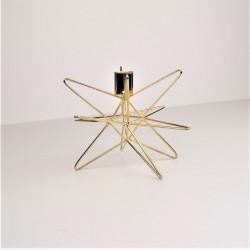 Kerzenhalter gold