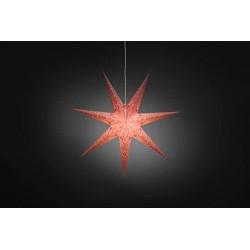 Deko-Leuchtstern mit Kabel