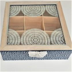 Teebox, 9 Fächer