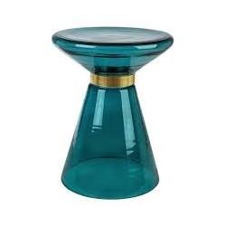 Beistelltisch aus Glas