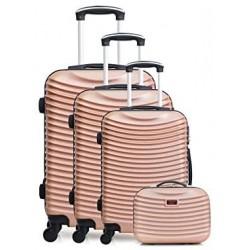 4-Rollen-Koffer-Set, 4tlg