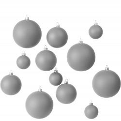 Weihnachtskugeln, 12 Stk