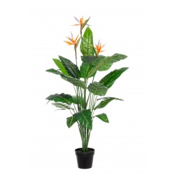 Kunstpflanze Papageienblüte